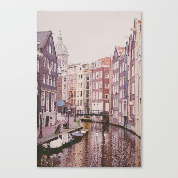 Amsterdam love II Canvas Print
