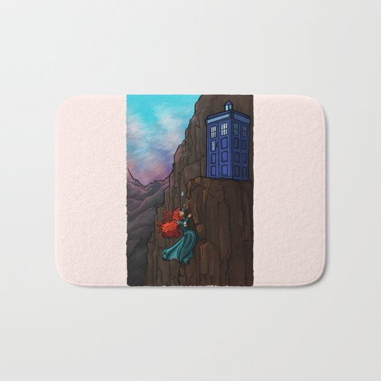 Touch the sky...and then the stars. Bath Mat
