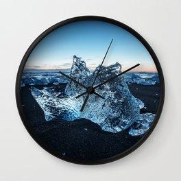 Ice Castle Wall Clock
