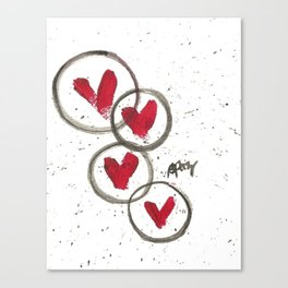 Love Connection Canvas Print