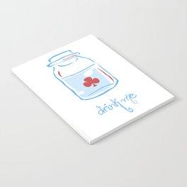 drink me Notebook