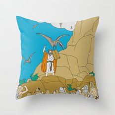 Jesus, Etc. III Throw Pillow