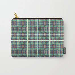 plaidish Carry-All Pouch