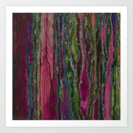 Spellbinding Impasse (Bioluminescent Field) Art Print