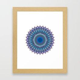 Beautiful Path Framed Art Print