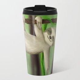Just slothin' Travel Mug