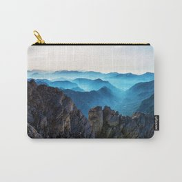 Mountains Breathe Too Carry-All Pouch