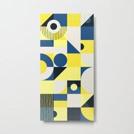 Japanese Patterns 12 Metal Print