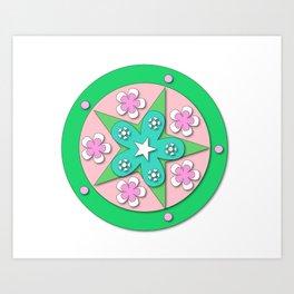 Mandala of Peace Art Print