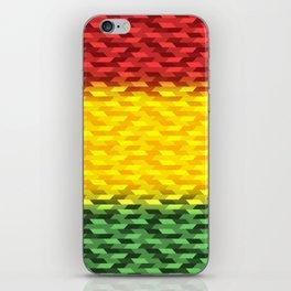 Reggae Vibration iPhone Skin