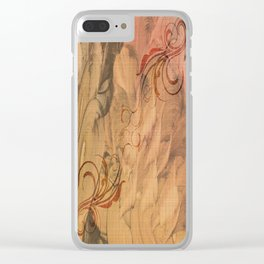 Daughter of Wands Clear iPhone Case