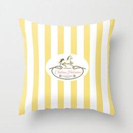 Chateau Palomino Throw Pillow