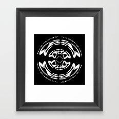 DJ Warped II Framed Art Print