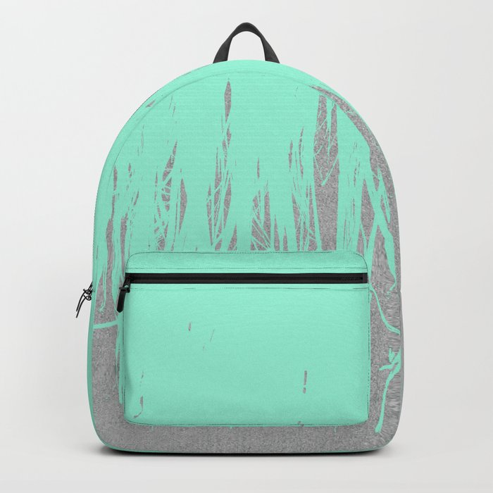 Fringe Concrete Mint Backpack
