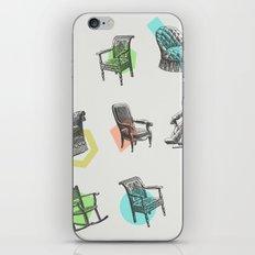 Old Chairs iPhone & iPod Skin
