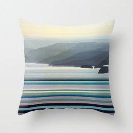 Big Sur Landscape Throw Pillow