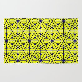 V26 Moroccan Pattern Design Yellow Carpet Moroccan Texture. Rug