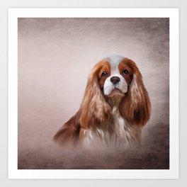 Dog breed Cavalier King Charles Spaniel Art Print