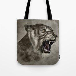 Roaring Liger - Digital Art Tote Bag