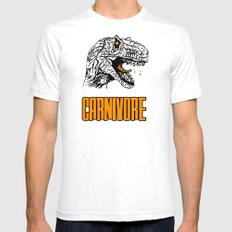 Carnivore Mens Fitted Tee White SMALL