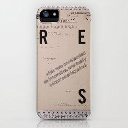 Under Pressure iPhone Case