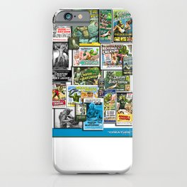 Vintage Creature by Iamjohnlogan iPhone Case