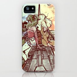 Look towards the Horizon iPhone Case