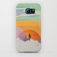 I Like to Watch the Sun Come Up - (White Version) Slim Case Galaxy S7