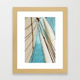 Catch The Wind Framed Art Print
