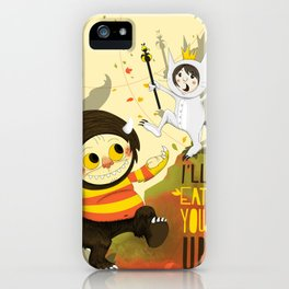 Max & Moishe iPhone Case