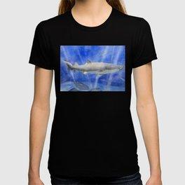 Shark Watercolor Painting T-shirt