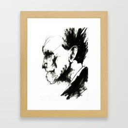 EZRA POUND Framed Art Print