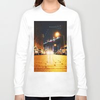 dumbo Long Sleeve T-shirts featuring Dumbo, Brooklyn by Dominique Weber