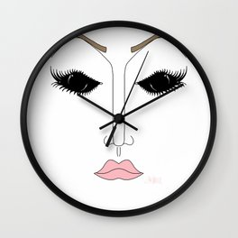 Pageant Glare Wall Clock