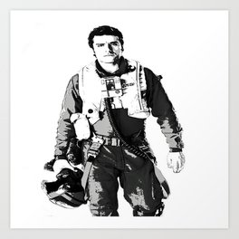 You Need A Pilot? Art Print