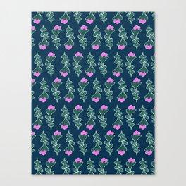 Vintage Spring #society6 #pattern Canvas Print