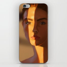 Orange Stripe iPhone Skin