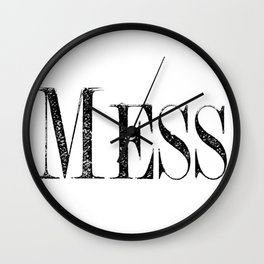 Mess Wall Clock