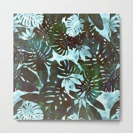 Motuu Tropical Minty Green Metal Print