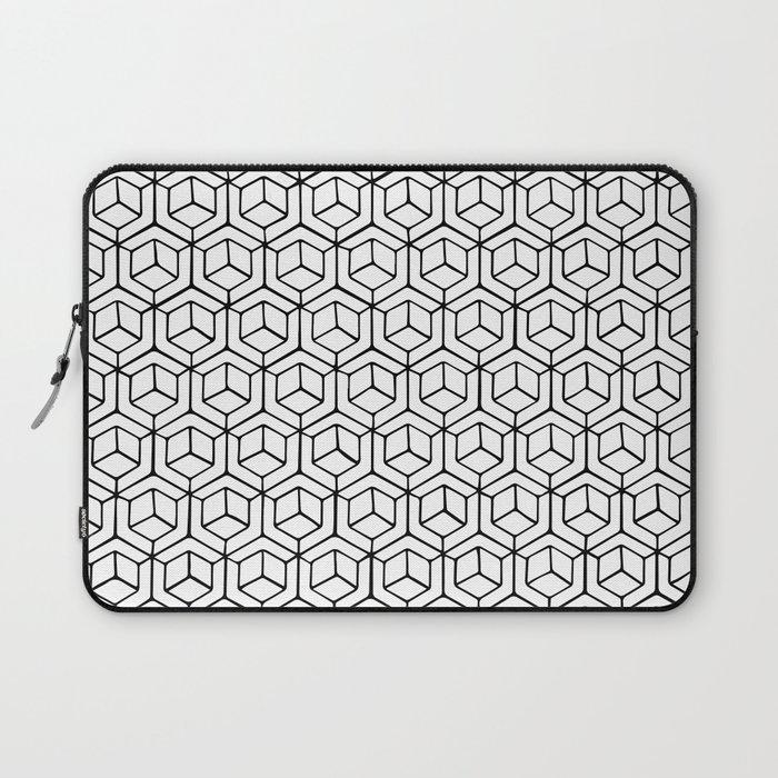 Hand Drawn Hypercube Laptop Sleeve