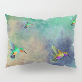 Secret Escape Hummingbird Design Pillow Sham