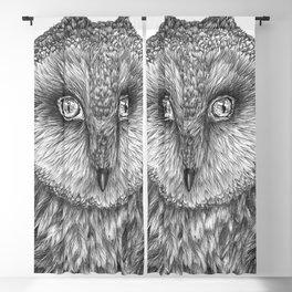 Little Barn Owl Blackout Curtain
