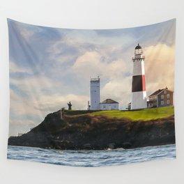 Montauk Lighthouse Wall Tapestry