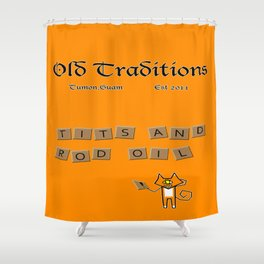 Anagram Shower Curtain