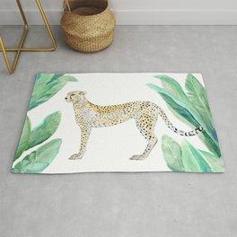 Cheetah in Jungle Rug
