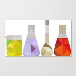 Cubic Glasswear Canvas Print
