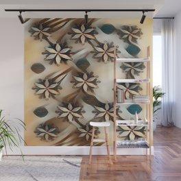"""Snowflake Beauty II"" Wall Mural"