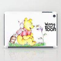 winnie the pooh iPad Cases featuring Winnie the Pooh & Piglet by Lozza.