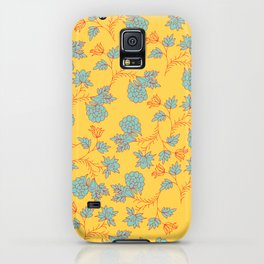 bright floral pattern iPhone Case