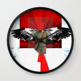 Wonder Wood Dream Mountains - The Demon Cleaner Series · Defenders of the Faith Wall Clock